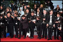 Photographers on the Red Carpet during the 65th Annual Cannes Film Festival at Palais des Festivals, Cannes, France, Sunday May 20, 2012. Photo by Andrew Parsons/i-Images.