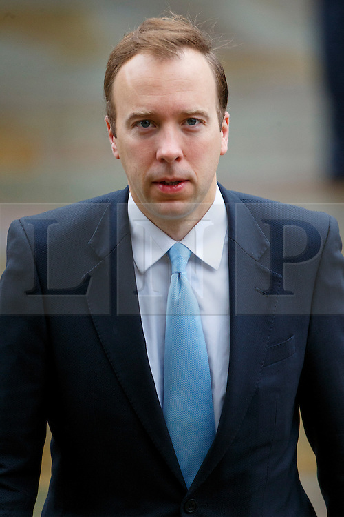© Licensed to London News Pictures. 07/10/2015. Manchester, UK. Government Minister MATTHEW HANCOCK arriving Conservative Party Conference at Manchester Central convention centre on Wednesday, 7 October 2015. Photo credit: Tolga Akmen/LNP