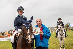 Durt Angelina, BEL, Robbie F<br /> Nationaal Tornooi LRV Ponies<br /> Zonnebeke 2019<br /> © Hippo Foto - Dirk Caremans<br />  29/09/2019