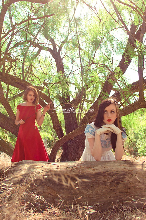 Models: Ashley Oh Yess as Alice<br /> Jessie James Hollywood as The Queen Of Hearts<br /> Location: Woodward Park