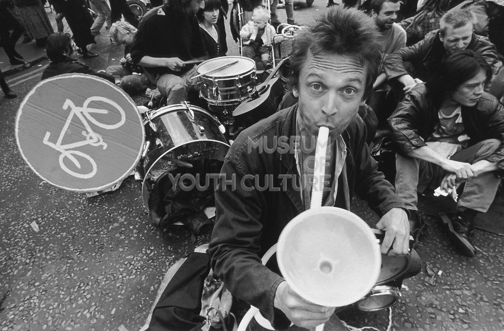 Reclaim the streets, Camden Town, London 1995