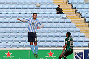 Coventry City Defender Baily Cargill during the Sky Bet League 1 match between Coventry City and Rochdale at the Ricoh Arena, Coventry, England on 5 March 2016. Photo by Chris Wynne.
