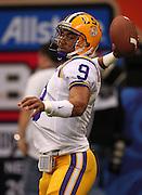 Jan 9, 2012; New Orleans, LA, USA;  Alabama Crimson Tide vs LSU Tigers at the Louisiana Superdome.  Mandatory Credit: Marvin Gentry