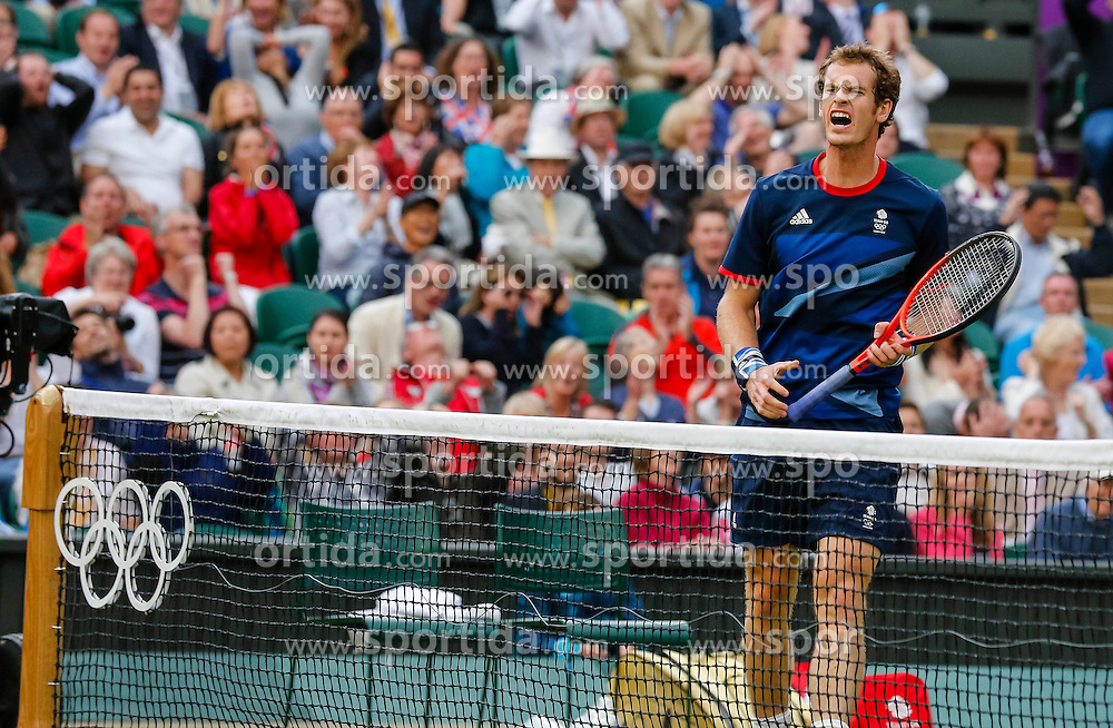 Olympic Games London 2012, Tennis men.Andy MURRAY, GBR.© pixathlon