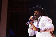 Anthony Hamilton performs during Summer Spirit Festival 2015 at Merriweather Post Pavilion in Columbia, MD on Saturday, August 8, 2015.
