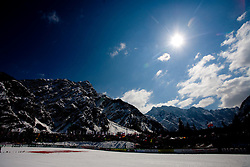 Late sun at Flying Hill Team in 3rd day of 32nd World Cup Competition of FIS World Cup Ski Jumping Final in Planica, Slovenia, on March 21, 2009. (Photo by Vid Ponikvar / Sportida)