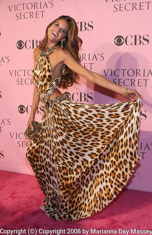 Nov 16, 2006; Hollywood, CA, USA; Model IZABEL GOULART arrives for the Victoria's Secret Fashion Show. Mandatory Credit: Photo by Marianna Day Massey/ZUMA Press. (©) Copyright 2006 by Marianna Day Massey
