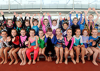 20 Aug 2016:  U9 Girls Gymnasts.   2016 Community Games National Festival 2016.  Athlone Institute of Technology, Athlone, Co. Westmeath. Picture: Caroline Quinn