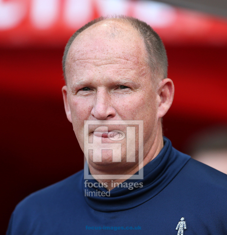 Sunderland manager Simon Grayson prior to the Sky Bet Championship match at the Stadium Of Light, Sunderland<br /> Picture by Simon Moore/Focus Images Ltd 07807 671782<br /> 19/08/2017