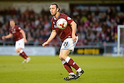 Northampton Town Midfielder John-Joe O'Toole during the Sky Bet League 2 match between Northampton Town and Crawley Town at Sixfields Stadium, Northampton, England on 19 April 2016. Photo by Dennis Goodwin.