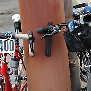 Bicycles at 2012 El Tour de Tucson finish. Bike-tography by Martha Retallick.
