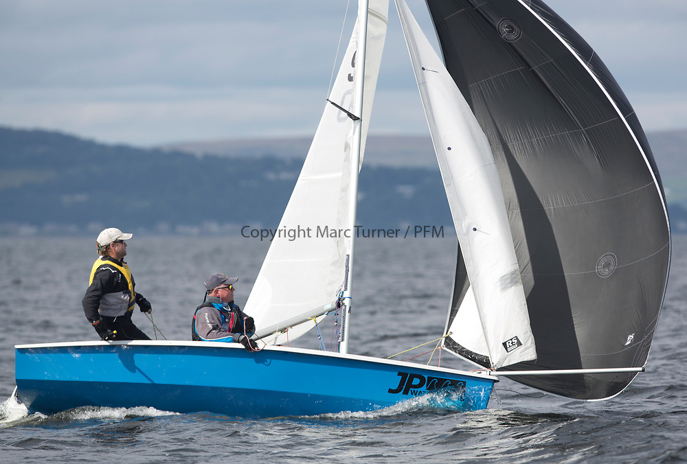 Largs Regatta Week 2017 <br /> <br /> Day 2, 930, RS 200, Martin Faulkner, Ashleigh Brown ( ;-) )<br /> <br /> Picture Marc Turner