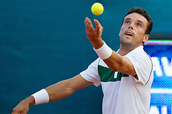 Roberto Bautista Agut (ESP) during a tennis match against the Blaz Kavcic (SLO) in second round of singles at 26. Konzum Croatia Open Umag 2015, on July 23, 2015, in Umag, Croatia. Photo by Urban Urbanc / Sportida
