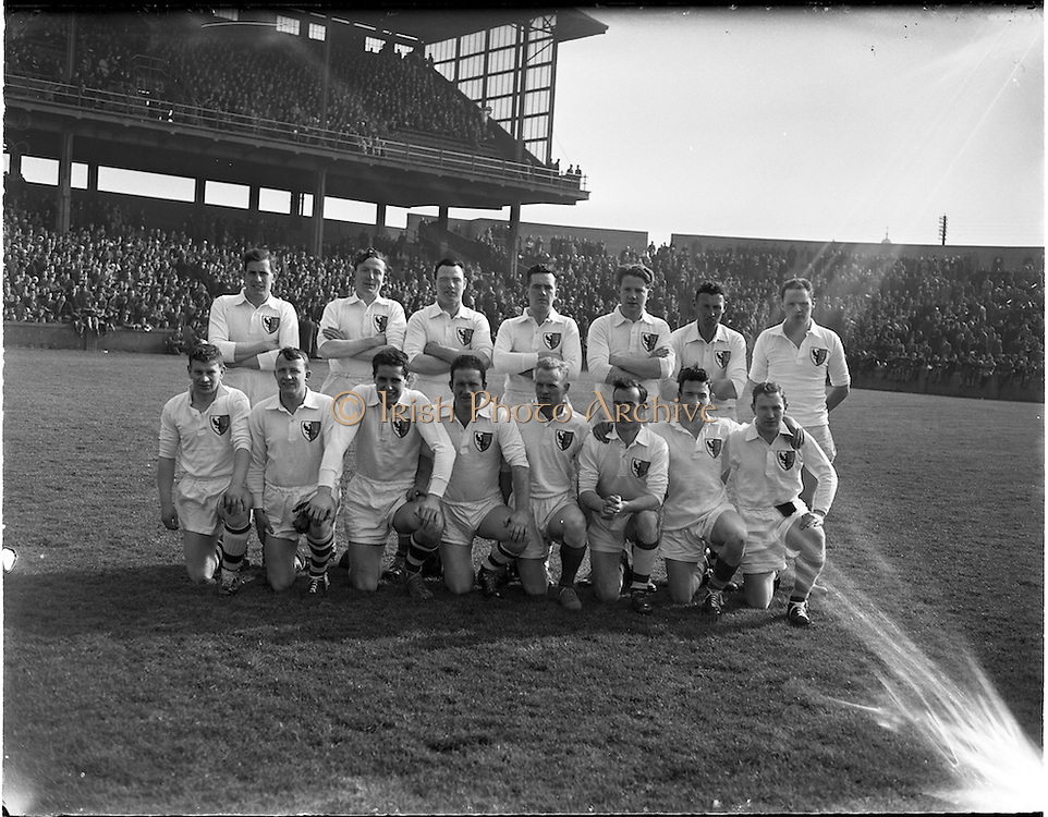 17/03/1958.03/17/1958.17 March 1958.Railway Cup Football Final: Munster v Connaught, Croke Park..The Connaught team.