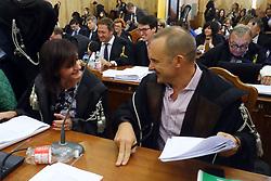 PM BARBARA CAVALLO E STEFANO LONGHI<br /> UDIENZA PROCESSO CARIFE