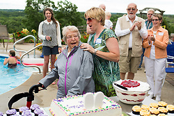 Caroll's 90th Birthday, Saturday, June 27, 2015 at Pam and Jeff's Home in Tremble County.