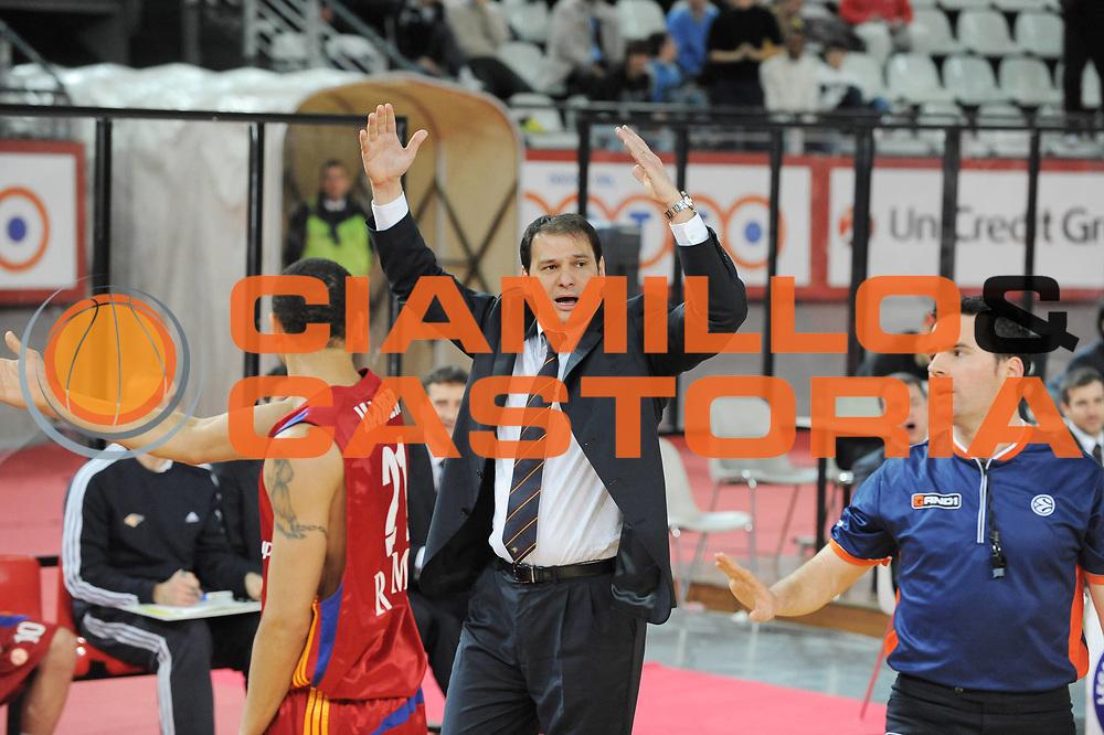 DESCRIZIONE : Roma Eurolega 2008-09 Top 16 Lottomatica Virtus Roma Partizan Belgrado<br /> GIOCATORE : Referee<br /> SQUADRA : Partizan Belgrado<br /> EVENTO : Eurolega 2008-2009<br /> GARA : Lottomatica Virtus Roma Partizan Belgrado<br /> DATA : 11/03/2009<br /> CATEGORIA : <br /> SPORT : Pallacanestro<br /> AUTORE : Agenzia Ciamillo-Castoria/G.Ciamillo