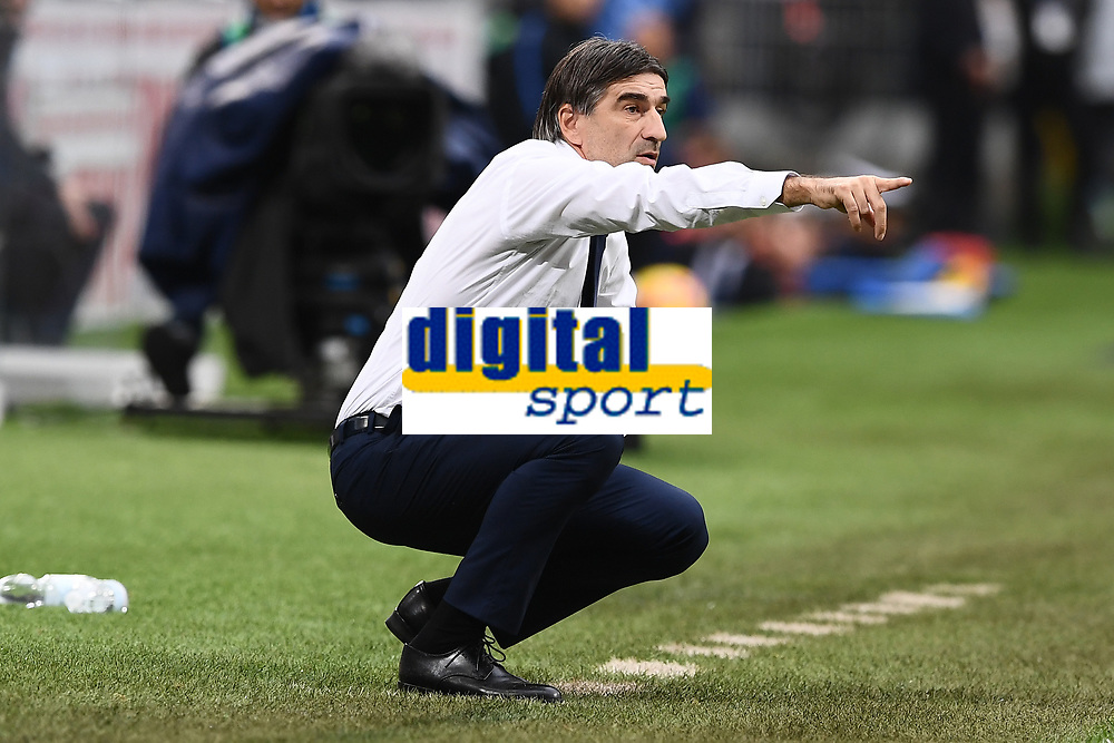 Ivan Juric<br /> Milano 03-11-2018 Stadio San Siro Football Calcio Serie A 2018/2019 FC Internazionale - Genoa Foto Matteo Gribaudi / Image Sport / Insidefoto