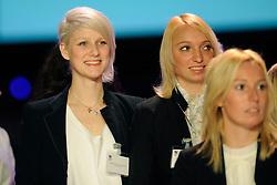 14-12-2009 ALGEMEEN: TOPSPORT GALA AMSTERDAM: AMSTERDAM<br /> Michelle Goos en Kim van Herk<br /> ©2009-WWW.FOTOHOOGENDOORN.NL