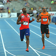 GAY - 13USA, Des Moines, Ia. Tyson Gay completed his double by winning the 200 on Sunday.  Photo by David Peterson