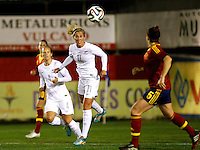 Fifa Womans World Cup Canada 2015 - Preview //  Friendly Match -<br /> Spain vs New Zealand 0-0  ( Municipal Stadium - La Roda , Spain ) <br /> Kirsty Yallop of New Zealand