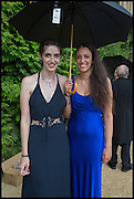 ALICE PRIESTLAND; JOELLE CHESS, The Tercentenary Ball, Worcester College. Oxford. 27 June 2014