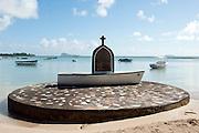 Catholic shrine by the sea.