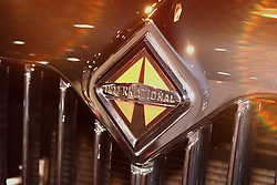 08 February 2007: 2007 International truck badge. The Chicago Auto Show is a charity event of the Chicago Automobile Trade Association (CATA) and is held annually at McCormick Place in Chicago Illinois.