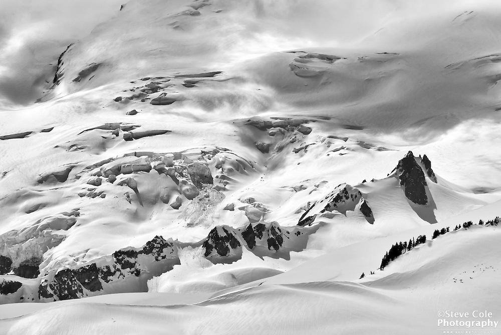 Park Glacier Icefall - Mount Baker Wilderness