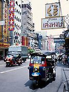 Yaowarat Road in Chinatown