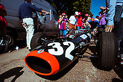 September 3-5, 2015 - Italian Grand Prix at Monza: Jackie Stewart's BRM P261 race winning car from Monza 1965.