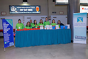 KELOWNA, CANADA - FEBRUARY 18:  Canadian Mental Health Promotion at the Kelowna Rockets game on February 18, 2017 at Prospera Place in Kelowna, British Columbia, Canada.  (Photo By Cindy Rogers/Nyasa Photography,  *** Local Caption ***