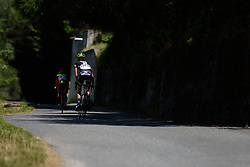 Carlee Taylor (Liv Plantur) at Giro Rosa 2016 - Stage 5. A 77.5 km road race from Grosio to Tirano, Italy on July 6th 2016.