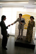 CARLO BRANDELLI, PETER YORK AND BEATRIX ONG , The London Magazine party to celebrate the New London Season and the TLM award for the Best-Dressed Man and Woman. Serpentine Gallery. 21 May 2008.  *** Local Caption *** -DO NOT ARCHIVE-© Copyright Photograph by Dafydd Jones. 248 Clapham Rd. London SW9 0PZ. Tel 0207 820 0771. www.dafjones.com.