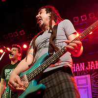 American Punk/Ska band Less Than Jake headline  in a triple punk/ska fest at Glasgow's O2 ABC (PLEASE DO NOT REMOVE THIS CAPTION)<br />