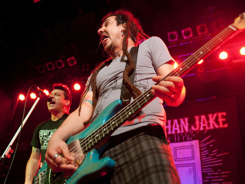 American Punk/Ska band Less Than Jake headline  in a triple punk/ska fest at Glasgow's O2 ABC (PLEASE DO NOT REMOVE THIS CAPTION)<br /> This image is intended for portfolio use only.. Any commercial or promotional use requires additional clearance. <br /> © Copyright 2014 All rights protected.<br /> first use only<br /> contact details<br /> Stuart Westwood <br /> 07896488673<br /> stuartwestwood44@hotmail.com<br /> no internet usage without prior consent. <br /> Stuart Westwood reserves the right to pursue unauthorised use of this image . If you violate my intellectual property you may be liable for damages, loss of income, and profits you derive from the use of this image.