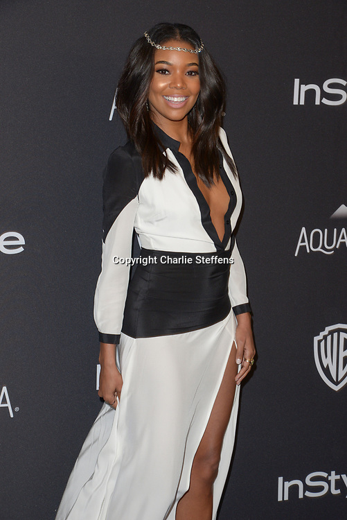 Gabrielle Union attends InStyle and Warner Bros 73rd Annual Golden Globes Post-Party at the Beverly Hilton Hotel on January 10, 2016, in Beverly Hills, California. (Photo: Charlie Steffens/Gnarlyfotos)