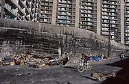 France. Marseille. cite Bellevue social housing  in the center of the city  Marseille  France    /cité Bellevue dans le centre de   Marseille  France  /R00015/1    L2815  /  P0004005