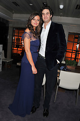 LADY NATASHA RUFUS-ISAACS and RUPERT FINCH at the Beulah AW13 Showcase, Bungalow 8 LFW Pop-Up at Belgraves - A Thompson Hotel, 20 Chesham Place, London SW1 on 13th February 2013.