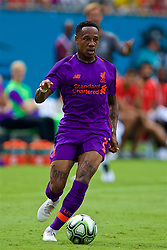 CHARLOTTE, USA - Sunday, July 22, 2018: Liverpool's Nathaniel Clyne during a preseason International Champions Cup match between Borussia Dortmund and Liverpool FC at the  Bank of America Stadium. (Pic by David Rawcliffe/Propaganda)