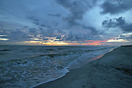 A day draws to a close on Sanibel Island, Florida.