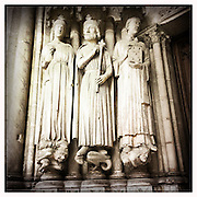 10-5-11 --- A frieze on the 7th century Church of Saint-Germain l'Auxerrois
