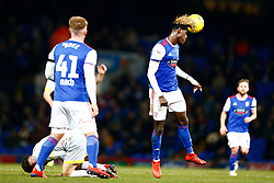 Trevoh Chalobah of Ipswich Town heads the ball - Mandatory by-line: Phil Chaplin/JMP - 13/02/2019 - FOOTBALL - Portman Road - Ipswich, England - Ipswich Town v Derby County - Sky Bet Championship