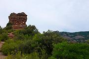 Turó Roig de Vacarisses. Parc Natural de Sant Llorenç del Munt i l'Obac