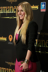 15.11.2012, Kinepolis Cinema, Madrid, ESP, Fototermin Filmpremiere, Twilight Saga, Breaking Dawn, im Bild Manchester United's goalie David De Gea girlfriend Edurne Garcia // during the premiere of The Twilight Saga, Breaking Dawn at the Kinepolis Cinema, Madrid, Spain onm 2012/11/15. EXPA Pictures © 2012, PhotoCredit: EXPA/ Alterphotos/ Alvaro Hernandez..***** ATTENTION - OUT OF ESP and SUI *****