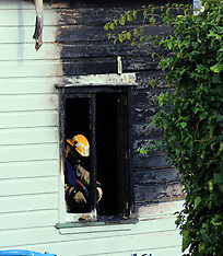 Auckland-Emergency services respond to Parnell house fire