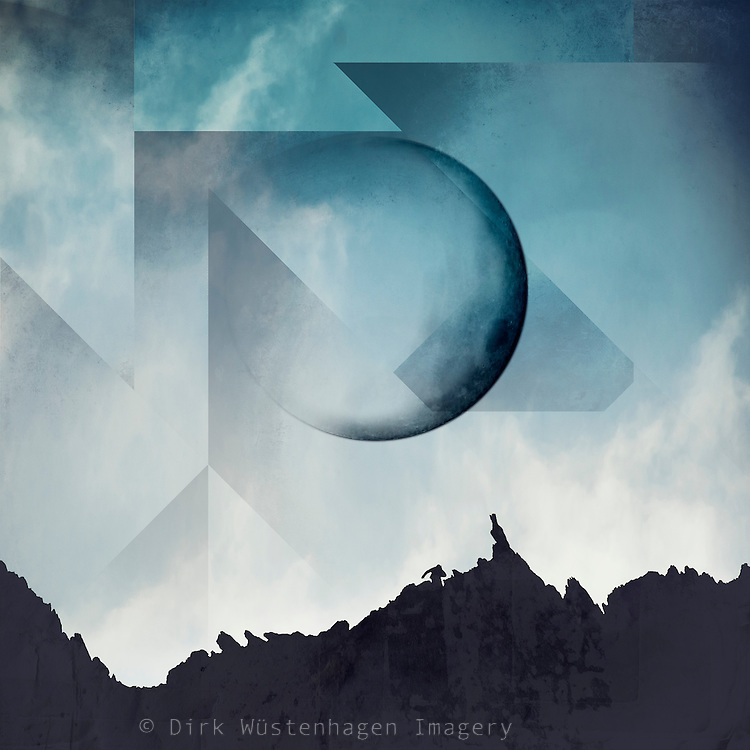 Surreal mountainscape with full moon - image manipulation<br /> Society6 Prints: http://bit.ly/2jKreda<br /> Redbubble Prints &amp; more: http://rdbl.co/2k49Tz5