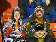 9th November 2017, Pittodrie Stadium, Aberdeen, Scotland; International Football Friendly, Scotland versus Netherlands; Scotland fans