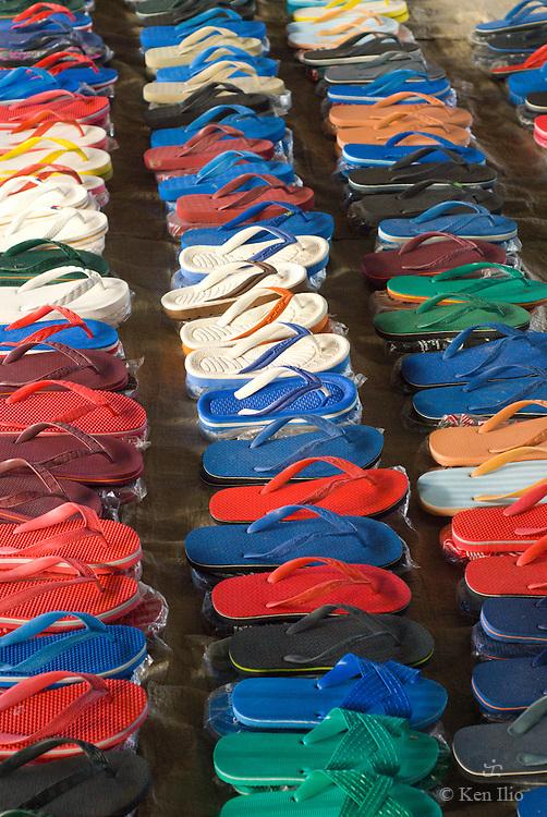 Foot Wear for Sale, Malinao Public Market, Malinao, Aklan