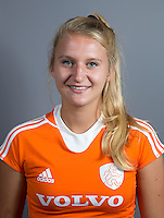 EINDHOVEN - LAURIEN LEURINK van Jong Oranje Dames, dat het WK in Duitsland zal spelen. COPYRIGHT KOEN SUYK